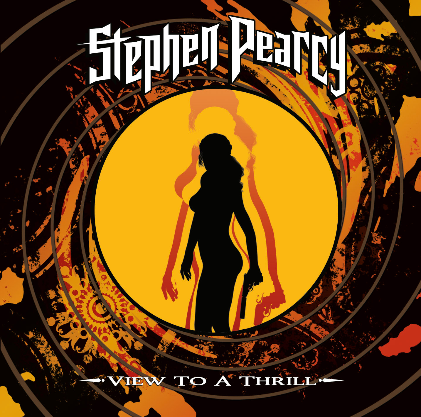 Stephen Pearcy - View To A Thrill Cover Art